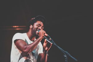 Kele from Bloc Party